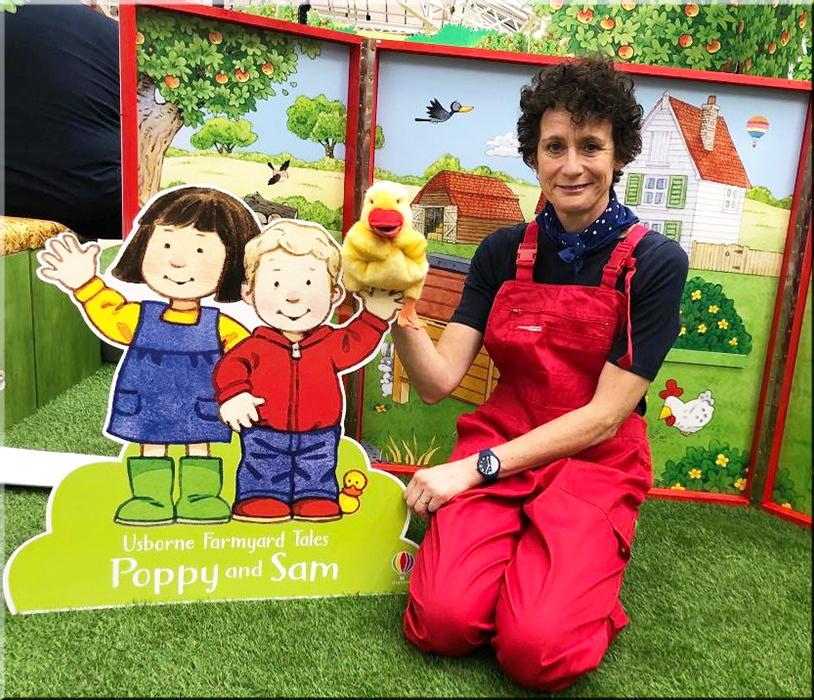 Poppy & Sam - London Book Fair